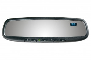 50-GENK45ACAM Gentex Auto-Dimming Rearview Mirror w/ Compass & HomeLink for 2012-2014.5 Toyota Camry