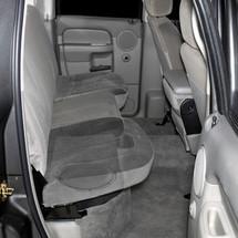 SB-D-QDRAM/10W3v3: Stealthbox® for 2002-Up Dodge Ram 1500 Quad Cab, 2003-Up 2500 & 3500 Quad Cab & 2009-Up Crew Cab SKU # 94049