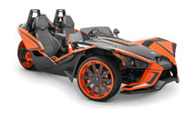 SB-POL-SLINGSUBD/10W3v3-2 (DRIVER): Stealthbox® for 2015-Up Polaris Slingshot, 2 Ω (Driver Side) SKU # 94638