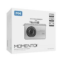Momento - M4 HD Dual Dash Cam Bundle - Silver