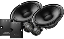 """Pioneer TS-Z65C 6-1/2"""" component speaker system"""