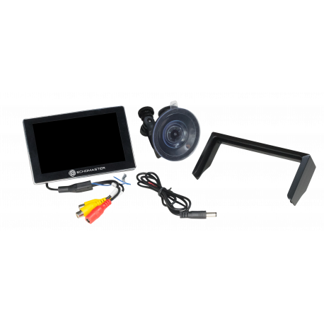 "5"" DASH MOUNT DIGITAL SLIM TFT/LCD MONITOR"