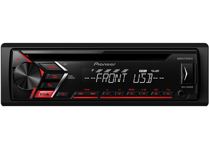 Pioneer Deh-s1100ub Car Stereo Receiver With Usb And Aux