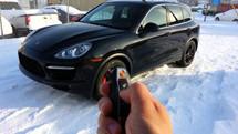 Porsche Remote Start