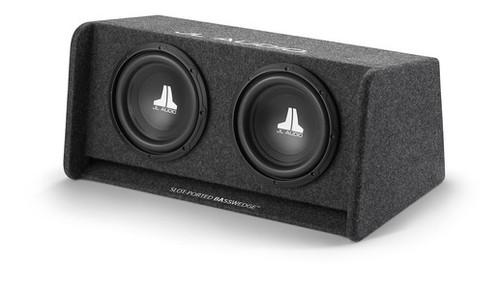 JL Audio CP210-W0v3: Dual 10W0v3 BassWedge, Ported, 2 Ω