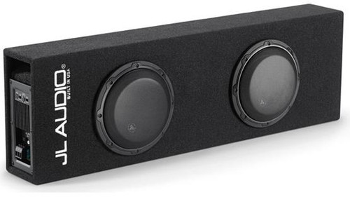 JL Audio ACP208LG-W3v3: Dual 8W3v3 MicroSub+™ with DCD™ Amplifier, Ported, 0.20 Ω