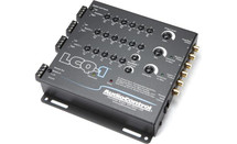 AudioControl LCQ-1 6-channel line output converter with equalizer — add amps to your factory system (Black)