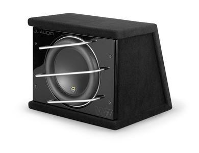 JL Audio CLS112RG-W7AE: Single 12W7AE ProWedge, Sealed, 3 Ω