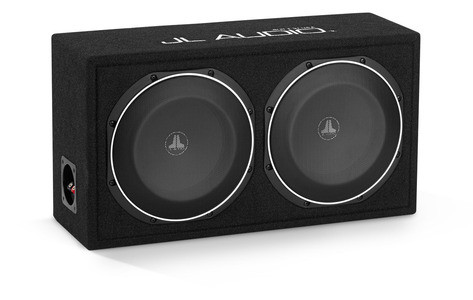 JL Audio CS210LG-TW1: Dual 10TW1 PowerWedge, Sealed, 2 Ω