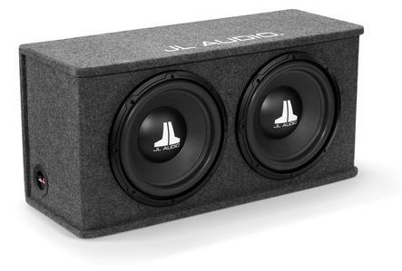 JL Audio CS212-WXv2: Dual 12WXv2 BassWedge, Sealed, 2 Ω