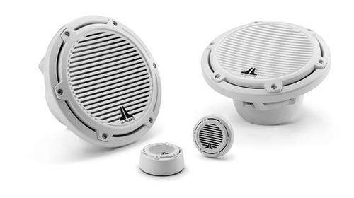 JL Audio M770-TCS-CG-WH: 7.7-inch (196 mm) Tower Component System, White Classic Grilles