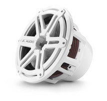 JL Audio M12IB6-SG-WH: 12-inch (300 mm) Marine Subwoofer Driver, White Sport Grille, 4 Ω