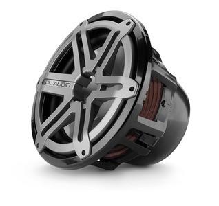 JL Audio M12IB6-SG-TB: 12-inch (300 mm) Marine Subwoofer Driver, Titanium Sport Grille, 4 Ω