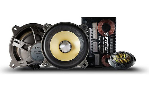 """Focal ES 100K K2 Power Series 4"""" component speaker system"""