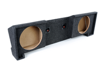 Atrend A102-12CP Carpeted BBox Series 12-Inch Dual Down-Fire Subwoofer Box for 1988-1998 GM Extended Cabs
