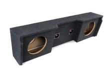 "Atrend A152-12CP Dual 12"" Carpeted Finish Vehicle Specific Enclosure for GM Extended Cab vehicle years between 1999-2007"