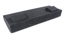 """Atrend A184-12CP Dual 12"""" Carpet Finish Vehicle Specific Enclosure for 2014 - 2016 GM Crew Cabs"""
