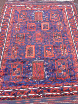 "Baluch Yaqub khani Main Carpet  5'10"" x 9'"