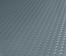 Diamond Tread garage flooring