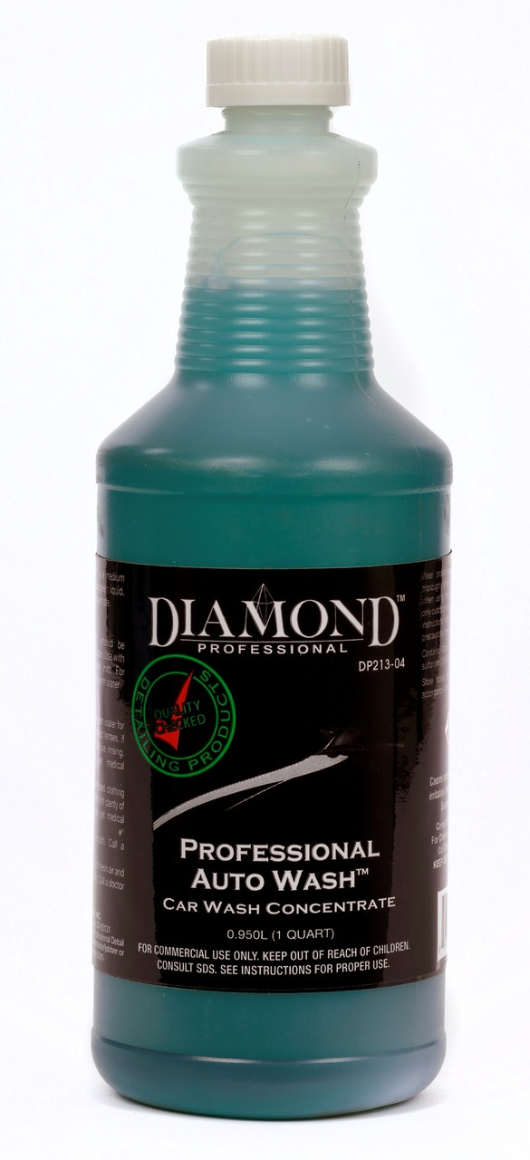 Professional Auto Wash is a biodegradable, medium viscosity, cost-effective, liquid car wash concentrate. It is a powerful production grade car wash concentrate that has been formulated for use in large shops and wholesale operations such as dealerships and auto auctions. Professional Auto Wash offers high sudsing properties and an effective lifting action that easily rinses away dirt and road film.