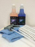 This kit includes: Professional APC Plus, Diamond S Dressing,  applicator sponge, 2 towels and 1 sprayer.