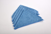 5 Pack or Microfiber towels for only $5.99!  Microfiber Towels 5 pack 15in. x 15in. all purpose microfiber towels.  This high quality, long lasting microfiber towel is good for all kinds of cleaning: great for auto detailers, janitors, housekeepers,anyone! Its high-quality, sturdy construction makes it a great multi-purpose towel.  What is microfiber? One strand of microfiber is several hundred times smaller that a fine strand of cotton fiber. Traditional cloths do not pick up dirt particles; they just push the dirt around on the surface. The non-abrasive wedge shaped microfibers scoop, lift and trap dirt, dust, grime and moisture without scratching. Fibers are lint free.  Special offer 5 pack for just $5.99