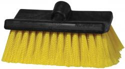 """Purchase one SM Arnold 8"""" Bi-level Wash brush, get one  Wheel, Fender and Wheel Well brush free.  Your choice of short handle or long handle! (While supplies last).  The Bi-level Fountain truck/van/RV wash brush has densely filled flagged-tip bristles staple-set in a bi-level foam block with one threaded fountain handle hole."""