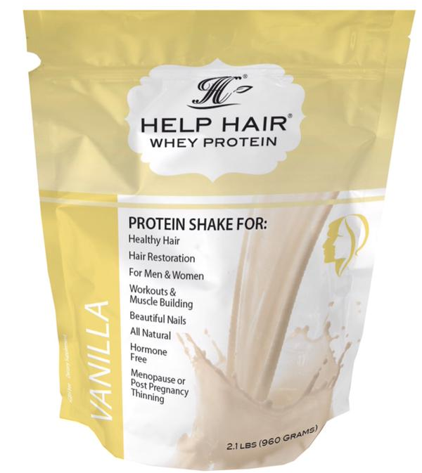 Help Hair Shake and Hair Vitamins for hair loss and working out