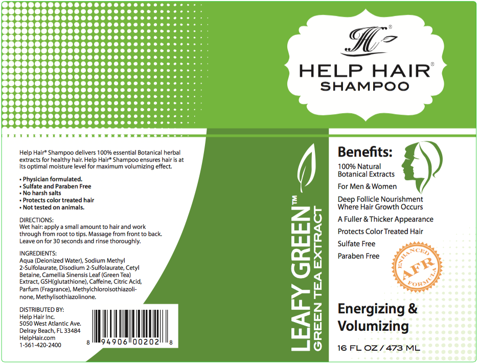 Help Hair Volumizing Shampoo for thin hair