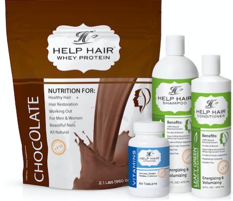 Help Hair 4 Step Program