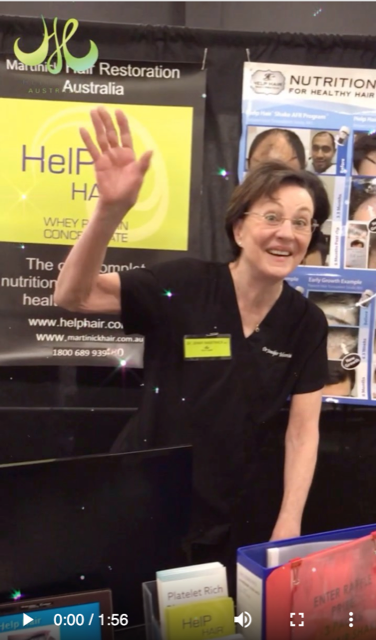 Help Hair Australian Distributor at Health Expo