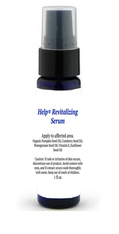 Help Hair Revitalizing  Serum
