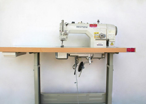 Computerized Direct Drive Trimmer Bestsew D9990 Lockstitch Industrial Sewing Machine Diy
