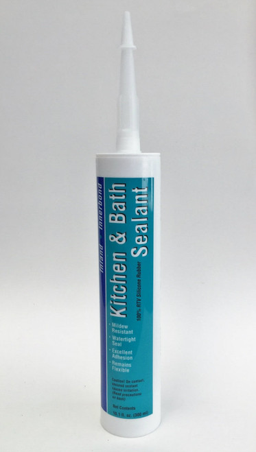 Kitchen & Bath silicone sealant caulk