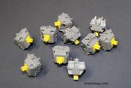 Durock POM T1 Sunflower (67g Tactile)