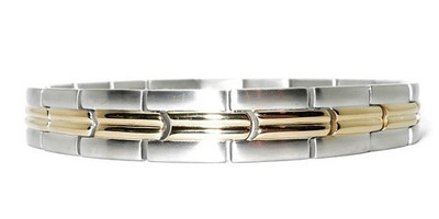 Traveler -  Stainless Steel  Magnetic Therapy Bracelet