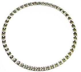 Silver Suave - Silver-Plated Magnetic Necklace