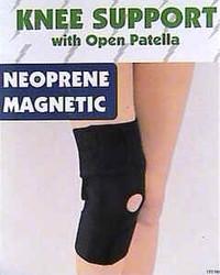 Magnetic Knee Wrap - w- Kneecap Opening