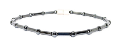 Hematite Classic - Magnetic Therapy Anklet