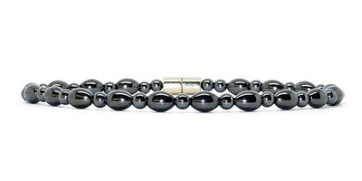Hematite Ovals - Magnetic Therapy Anklet