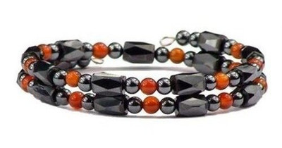 Simulated Red Agate Small Wrap Around - Magnetic Bracelet-Anklet