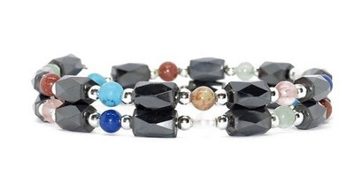 Living Colors Small Wrap Around - Magnetic  Bracelet  Anklet