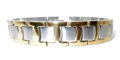 Dual T -  Titanium Magnetic  Bracelet