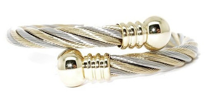 Woven Perfection Magnetic Bangle