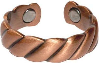 Copper Rope - Magnetic Therapy Ring
