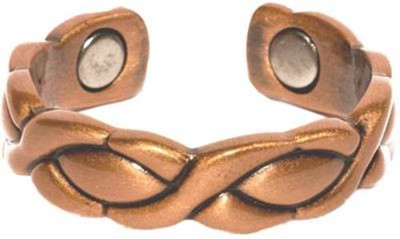 Copper XOXO - Magnetic Therapy Ring