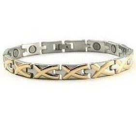 Adoration - Stainless Steel Magnetic Therapy Bracelet