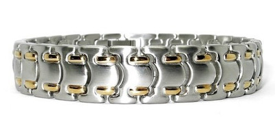 Alleviation - Stainless Steel Magnetic Therapy Bracelet