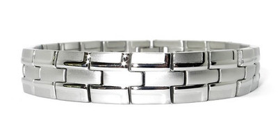 Backbone - Stainless Steel Magnetic Therapy Bracelet