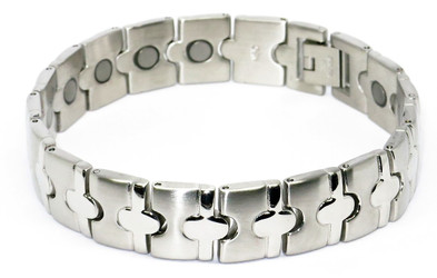 Center Point - Stainless Steel Magnetic Therapy Bracelet